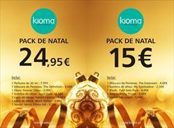 Kioma lança Packs de Natal para todas as mulheres!