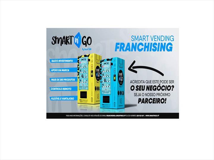 Smart n' Go inicia projeto de franchising com as suas vending machines de produtos tecnológicos