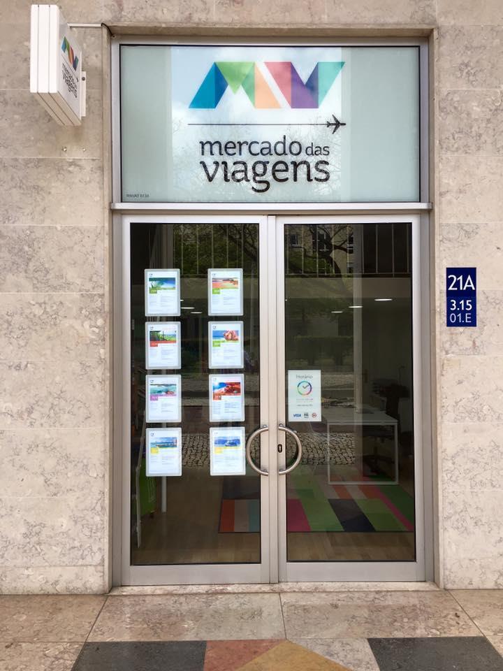 Nova agencia Mercado das Viagens