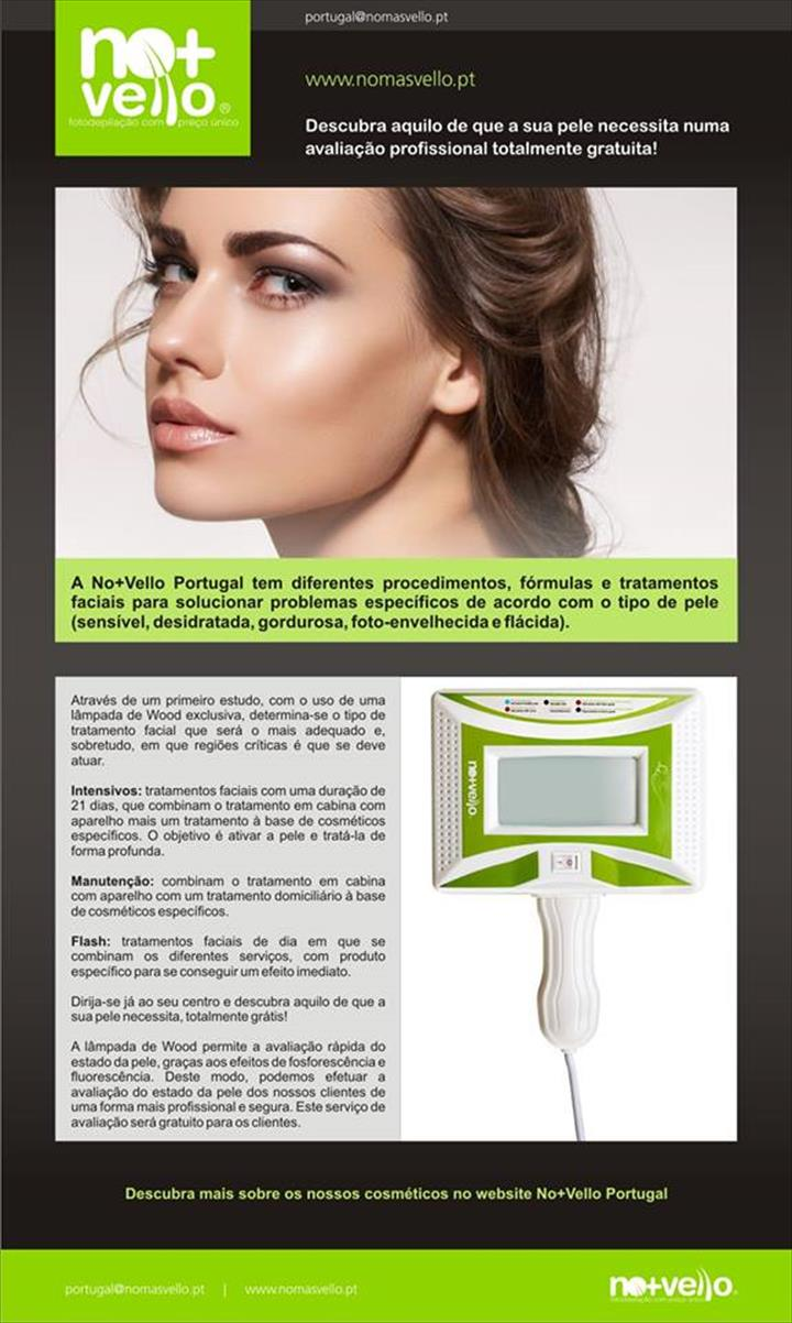 Descubra os tratamentos de rosto da No+Vello