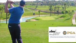 O golfe que está a ser cada vez mais praticado em Portugal, é um dos desportes que a Jani-KIng apoia e patrocina.