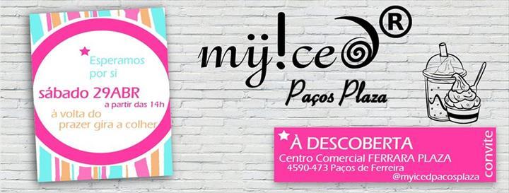A MYiCED® – Marca nacional de iogurte gelado em modo