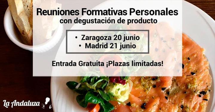 La Andaluz organiza evento em Zaragoza e Madrid em 20 e 21 de junho