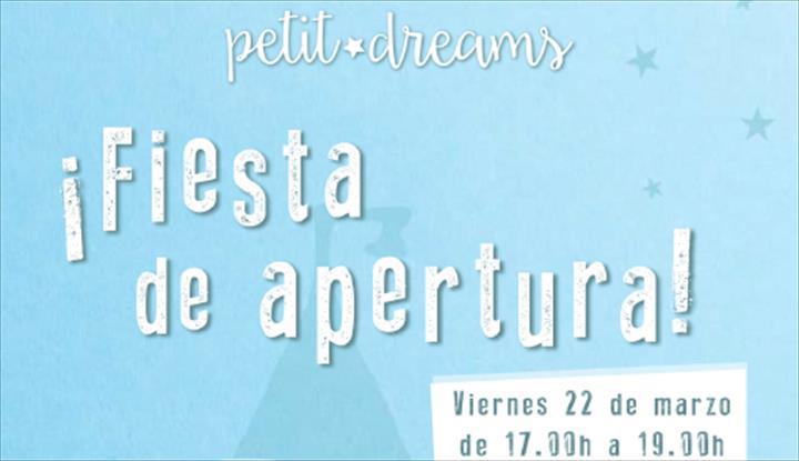 Venha a festa da Petit Dreams em Adra!