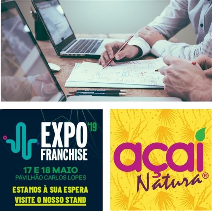 Açaí Natura estará presente na ExpoFranchise 2019