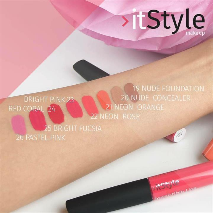 ItStyle Make Up – Irresistible Lips – Novas Cores