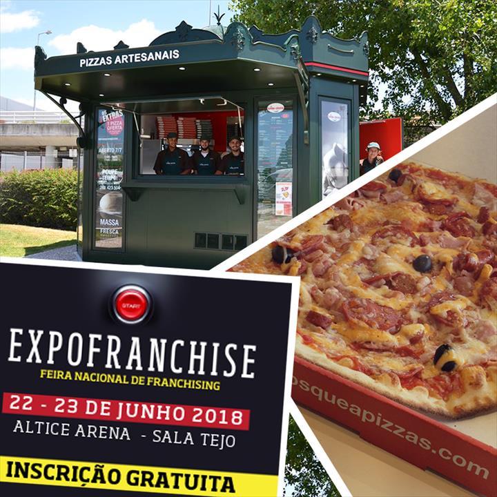 Le Kiosque à Pizzas participa na 23.ª edição da Expofranchise
