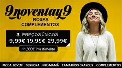ABRA A SUA LOJA 9noventay9 A PARTIR DE 11,999€ DE INVESTIMENTO