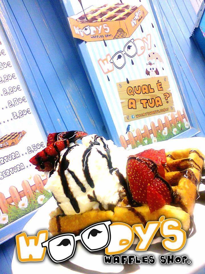 Waffles e Crepes é Woodys!!