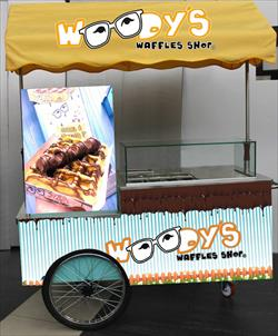 Bestfranchising é Woodys waffles shop