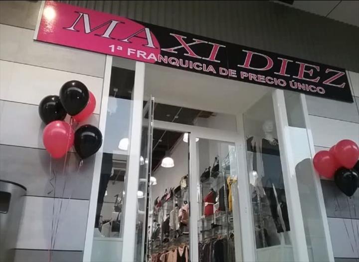 """""""A MAXI DIEZ – franchising líder em lojas de preço único onde tudo é vendido a 10€,"""