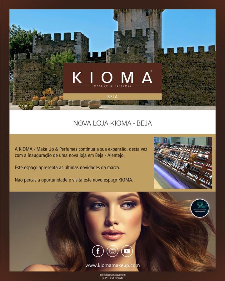 Nova loja KIOMA - Make UP & Perfumes (Beja)