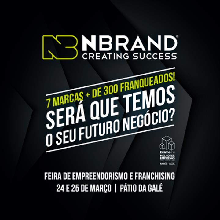 Grupo NBRAND garante presença na Feira de Empreendorismo e Franchising