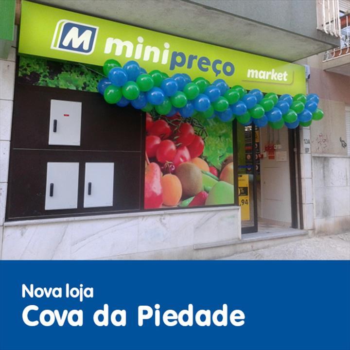 Já abriu a nova loja Minipreço Market na Cova da Piedade!