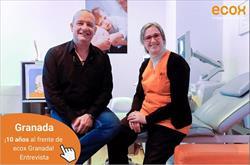 """""""A ECOX4D5D fornece-me serviços como a página web ou parcerias que não conseguiria ter sozinho"""" António Sesma, franchisado ecox Granada"""