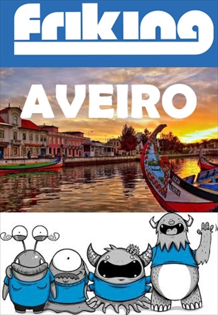 """A FRIKING diz """"Olá"""" a cidade conhecida como a Veneza de Portugal – Friking Aveiro!"""