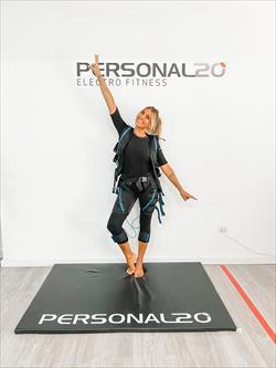Cláudia Jacques é a nova embaixadora da marca Personal20, cadeia portuguesa especializada em treinos com Eletro Estimulação