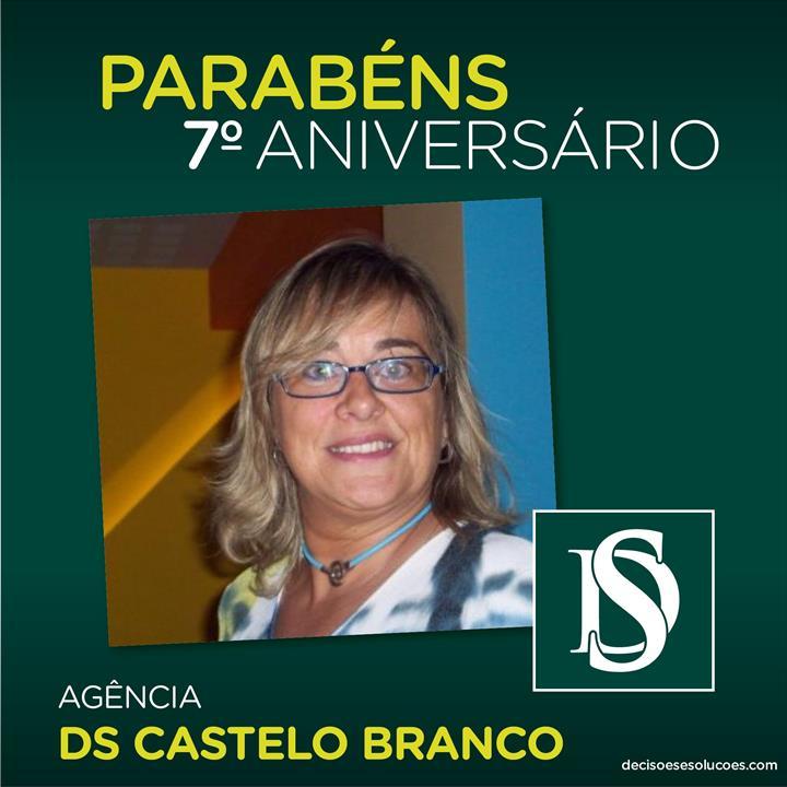 DECISÕES E SOLUÇÕES CASTELO BRANCO CELEBRA 7 ANOS DE ATIVIDADE