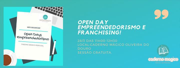 Open Days Caderno Mágico: Apoio à mudança!