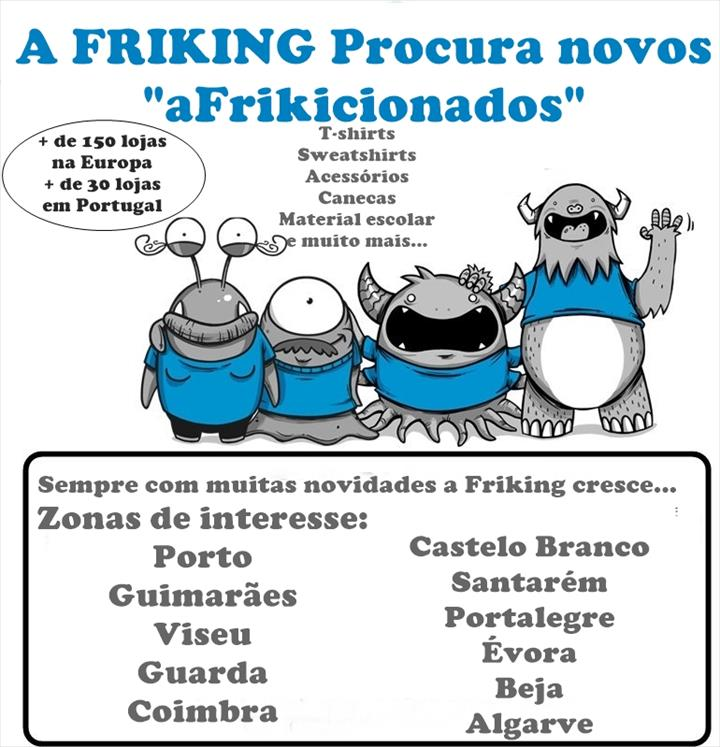 """A Friking procura ""aFrikicionados"""