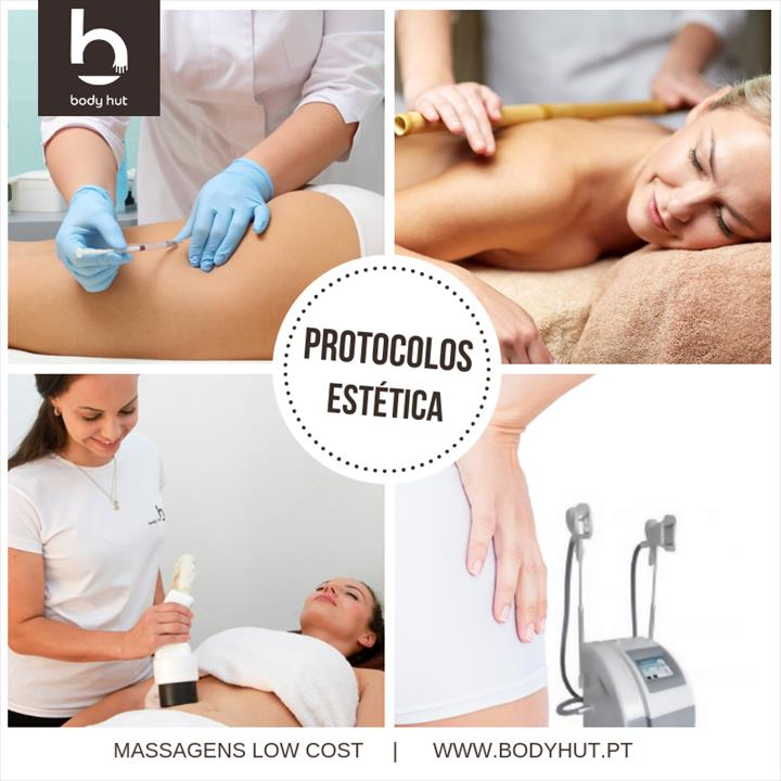 Sabia que na Body Hut pode fazer #protocolos?