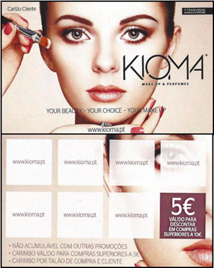 A Kioma – Make Up & Perfumes, gosta de mimar os seus clientes.