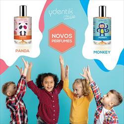 Novos perfumes para criança #Panda e #Monkey.