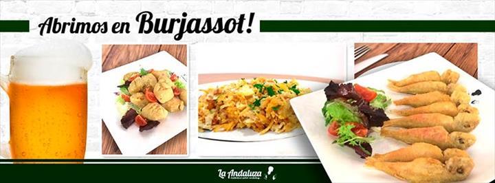 LA andaluza abre um Restaurante  em BURJASSOT (Valência)