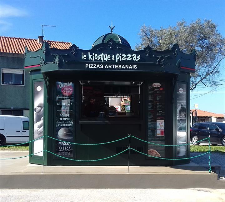 Le Kiosque à Pizzas já abriu no Seixal