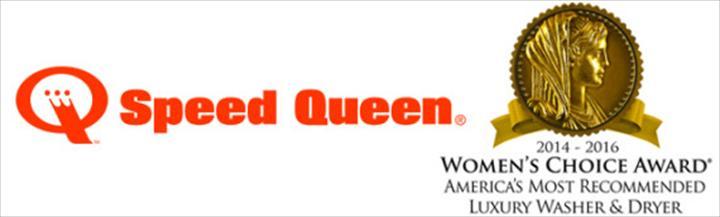 Speed Queen foi eleita pelo terceiro ano consecutivo como a marca mais recomendada pelas mulheres, pelas suas máquinas de levar e secar de alta qualidade.