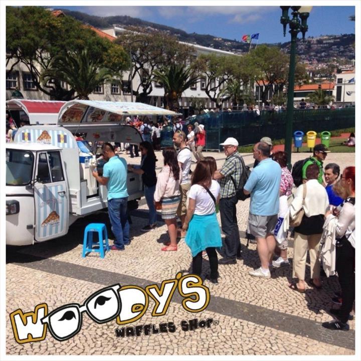 Woodys Waffles Shop,tenha o seu negocio próprio sem complicar!!