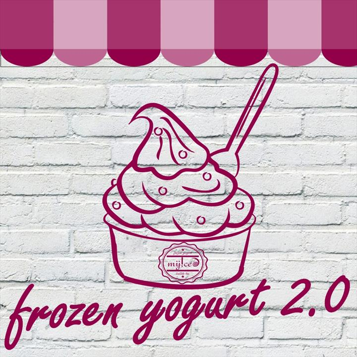 O iogurte gelado deixa de ser apenas um - gelato de imitação