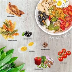 A refeição saudável da SANNO que pode ser aquecida