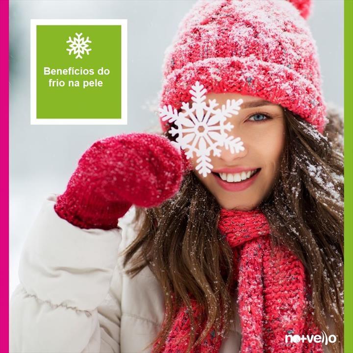 Sabia que o frio também traz benefícios à sua pele?