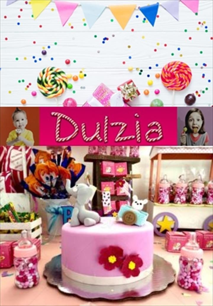 """Dulzia """"Festas, celebrções originais e com muita cor"""""""