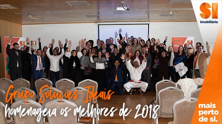 Grupo Soluções Ideais homenageia os melhores de 2018