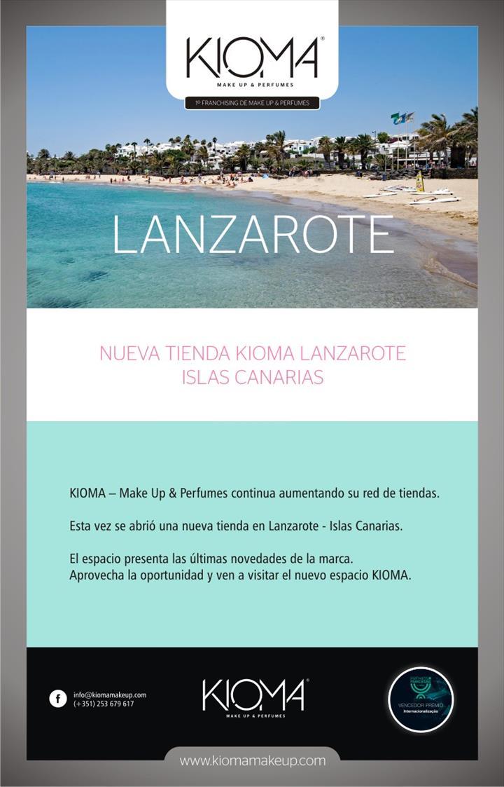 Kioma chega à Lanzarote ( Ilhas Canarias)