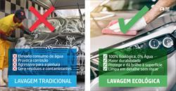 Lavagem Ecológica VS Lavagem Tradicional Veículos