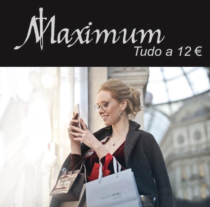 A Maximum Vip Fashion - tudo 12€ anuncia para breve a abertura de mais uma loja em Portugal, desta vez na cidade de Vila Real.
