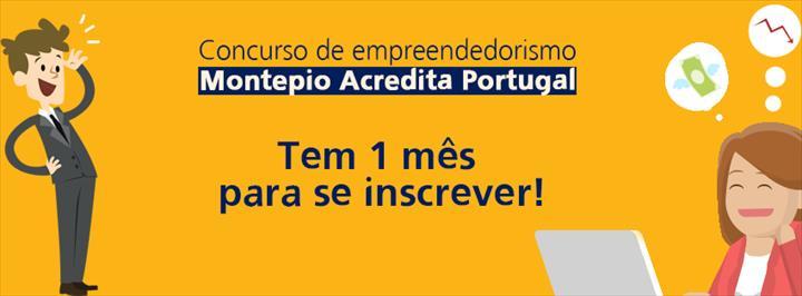 O Concurso Montepio Acredita Portugal ainda está a aceitar inscrição de projetos inovadores.