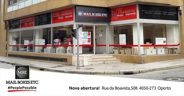 Mail Boxes Etc. abre primeiro centro de serviços no Porto