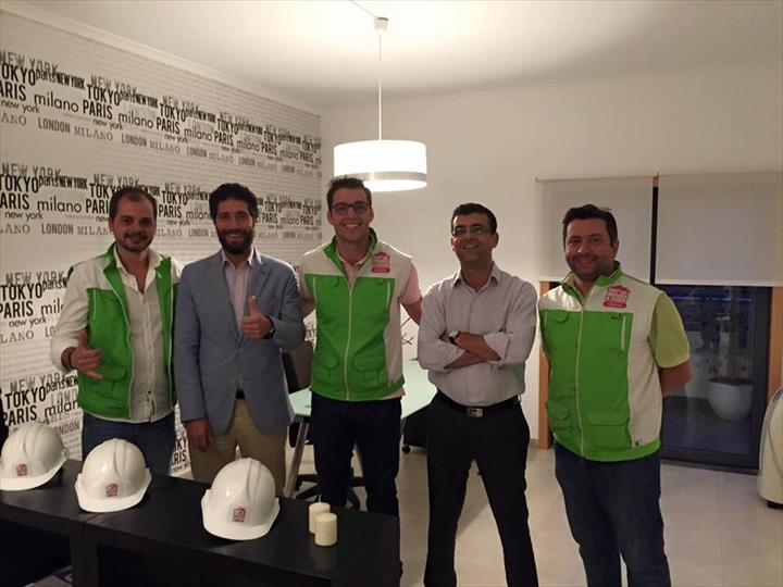 O Querido Pedro Leal inaugurou ontem em Odivelas a loja do Querido Mudei a Casa - Obras. Parabéns!