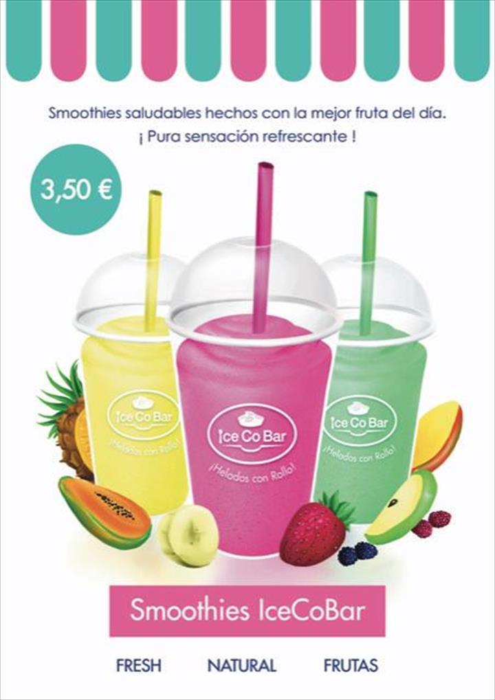 Novo IceCoBar smoothies saudáveis!