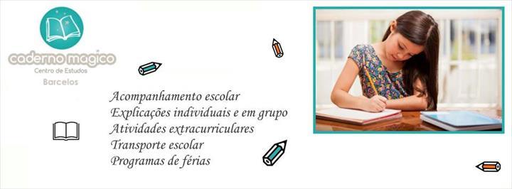 A rede de Centros de Estudo Caderno Mágico conta agora com uma nova unidade em Barcelos.