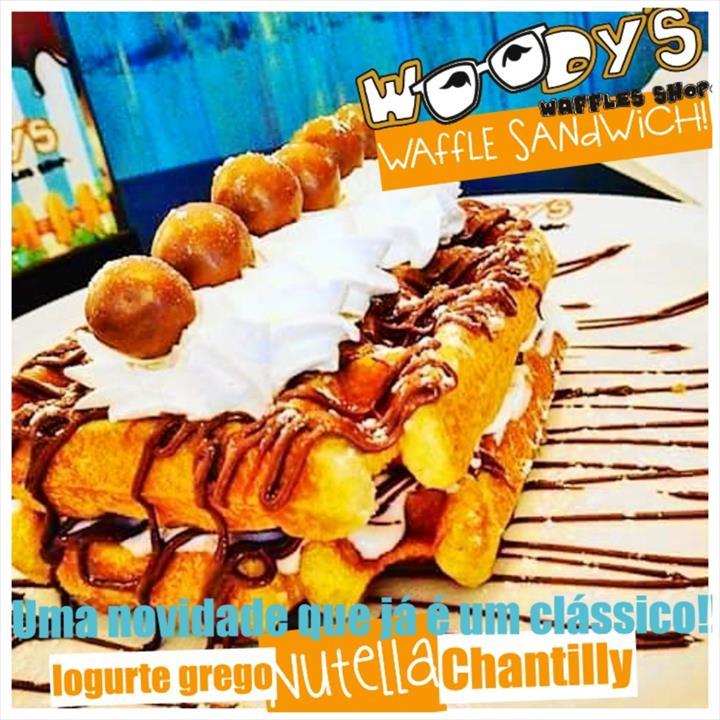 CHEGOU A WOODYS WAFFLE SANDWICH !