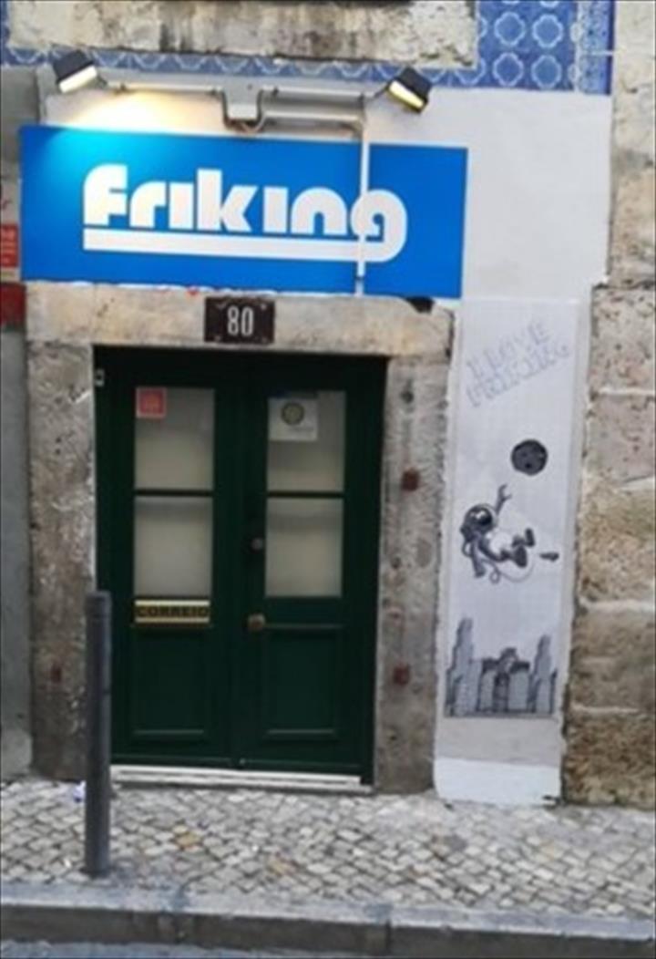 A FRIKING abre portas em Lisboa venha conhecer a Friking - Lisboa Bairro Alto