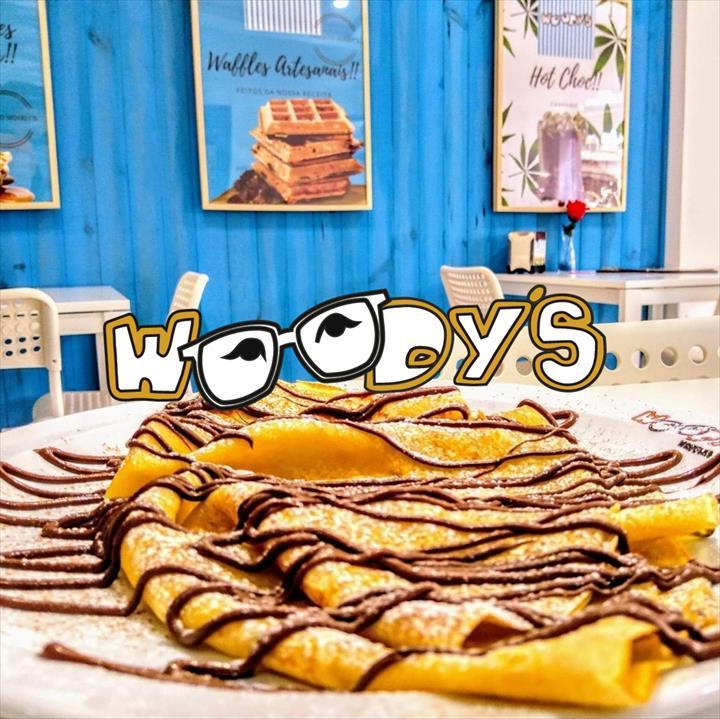 Em Portugal,Waffles e Crepes é Woody s!!