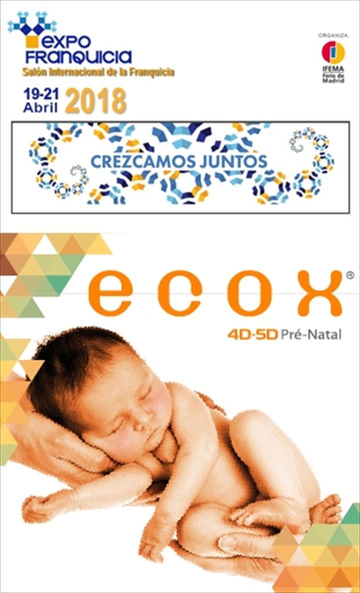 Ecox4D-5D, franchising líder em ecografia emocional, na Feira Expofranquicia em Madrid