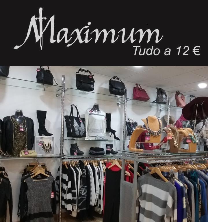 """""""Para quem é fashion addicted e procura as últimas tendências da moda ao melhor preço, a Maximum Vip Fashion é para si!"""