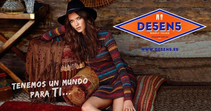 De5en5 representará a moda jovem no Salão Internacional da Franquia de Valencia